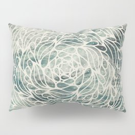 Mandala Ocean Waves Pillow Sham