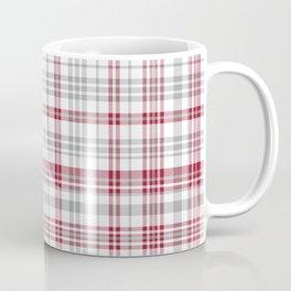Bama crimson tide college state pattern print university of alabama varsity alumni gifts plaid Coffee Mug