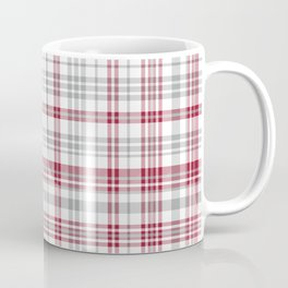 Bama crimson tide college state pattern print university of alabama varsity alumni gifts plaid Coffee Mug