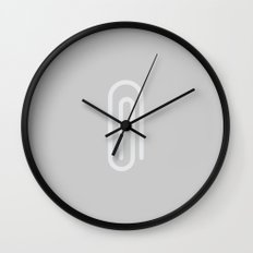#41 Paperclip Wall Clock