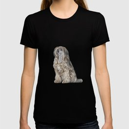 Drawing Chinese crested dog T-shirt