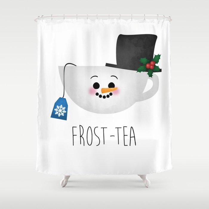 Frost-tea Shower Curtain