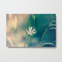 Elegant Floral Metal Print