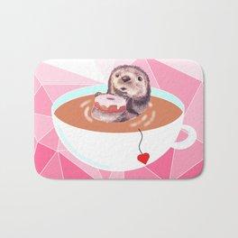 Hmmm Tea (pink) Bath Mat
