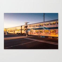 Train to a Dream Canvas Print