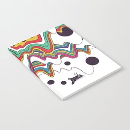 Psychedelic Planet Notebook