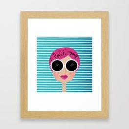 I love myself Framed Art Print