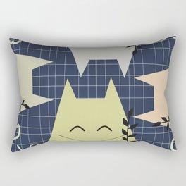A few happy cats Rectangular Pillow