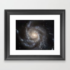 Pin wheel Galaxy Framed Art Print