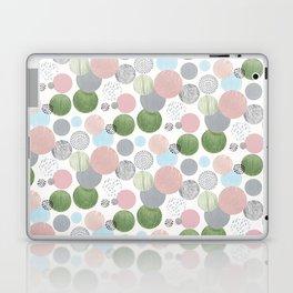 Neutral Circles Laptop & iPad Skin