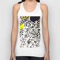 lama Tank Tops featuring Nissi Lama by MIMI & CHIC DESIGNS