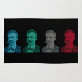 Friedrich Nietzsche Rug