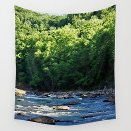 A Creek and Forest in West Virginia  Wall Tapestry
