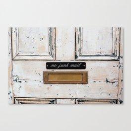 London - Mailbox Canvas Print