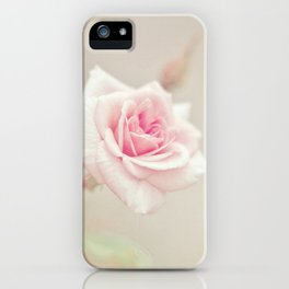 Little Pink Rose iPhone Case