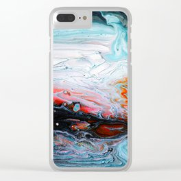 Sunday Clear iPhone Case