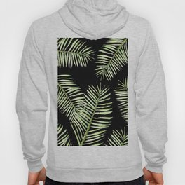 palm areca - black Hoody