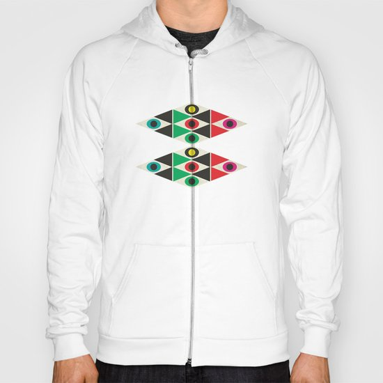 triangle pattern Hoody
