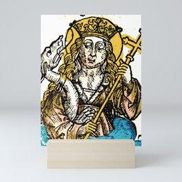 Saint Margaret of Antioch Mini Art Print