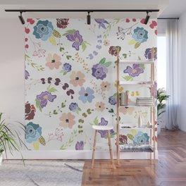 Floral Pattern II Wall Mural