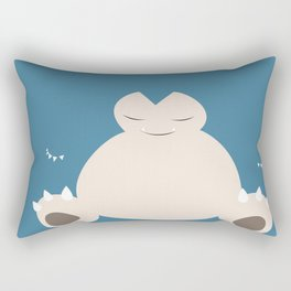 Snorlax Rectangular Pillow