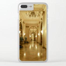 HOTEL BOLIVAR Clear iPhone Case