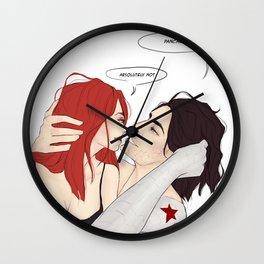 Morning Banters Wall Clock