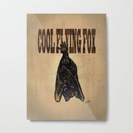 Cool Flying Fox Metal Print