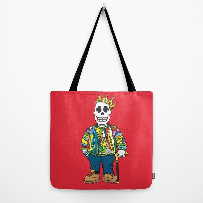Biggie Skulls Tote Bag