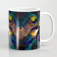 universe Mugs featuring Universe by Robin Curtiss