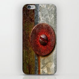 Rusted Washer iPhone Skin