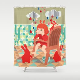 A Day To Idle And Daydream Shower Curtain