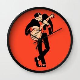 The Banjoist Wall Clock