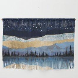 Midnight Lake Wall Hanging