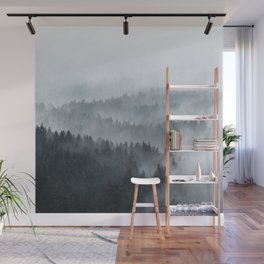 The Waves Wall Mural