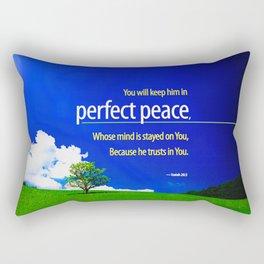 Perfect Peace Rectangular Pillow