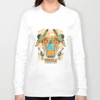 tequila Long Sleeve T-shirts featuring Tequila Duel by Tshirt-Factory