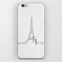 Eiffel Tower | Paris, France | Esperantos | StoryScape #1 iPhone & iPod Skin