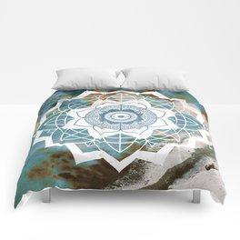 Nature Atmospheric Mandala Comforters