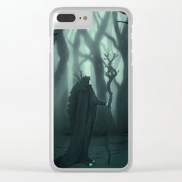 Deity of the Forest Clear iPhone Case