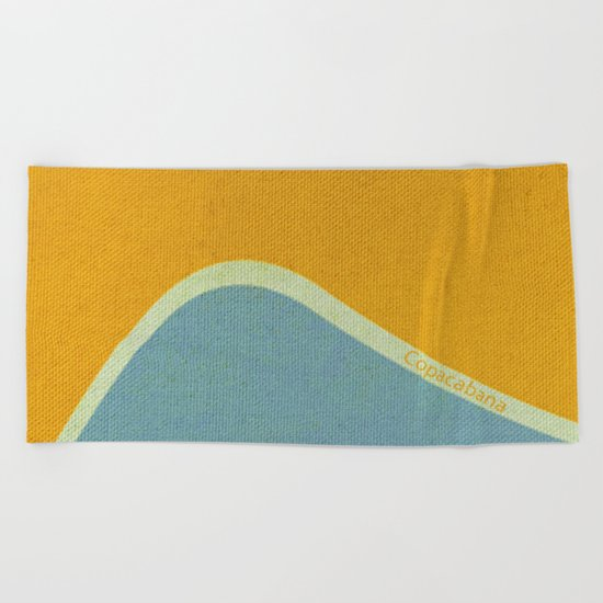 Copacabana Beach Towel