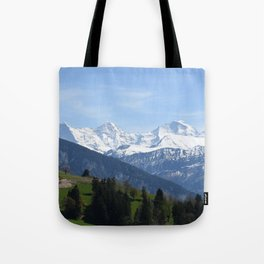 Eiger Bernese Oberland Switzerland Tote Bag