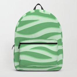 Green Tiger Stripe Backpack