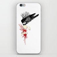 trash polka iPhone & iPod Skin