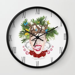 Tongue Tied Wall Clock