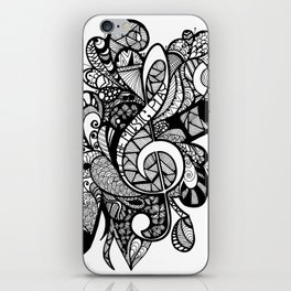 Let the music play! iPhone Skin