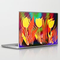 tulip Laptop & iPad Skins featuring Tulip  by LoRo  Art & Pictures