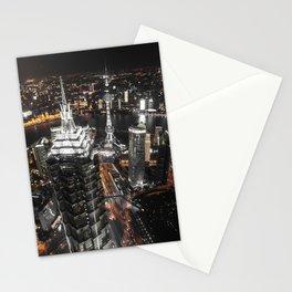 Shangaï by Night Stationery Cards