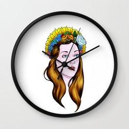 SAINT ANNE Wall Clock