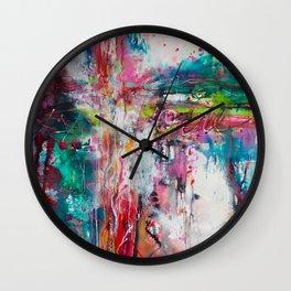 Crossroads Wall Clock